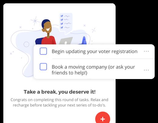 app checklist screens