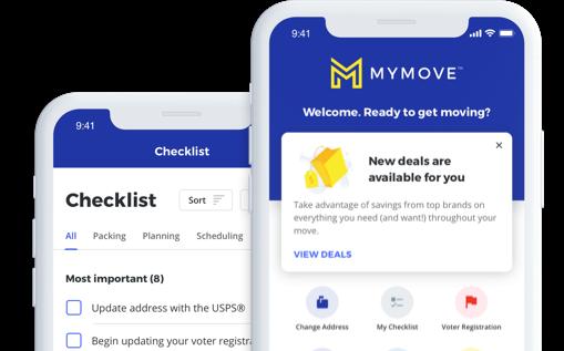 MyMove phone app