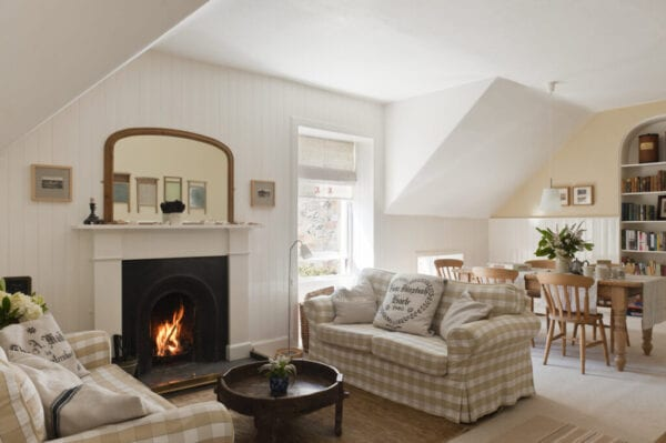 country style fireplace