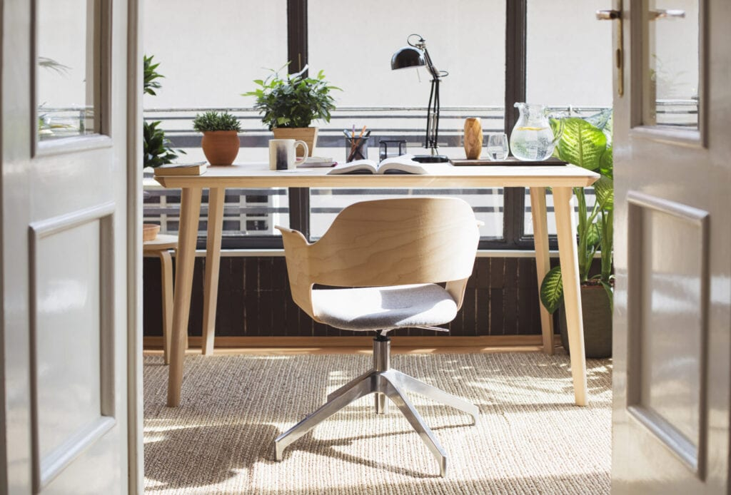 15 Gorgeous Desk Designs For Any Office Mymove