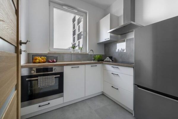 Small kitchen a modern interior design concept