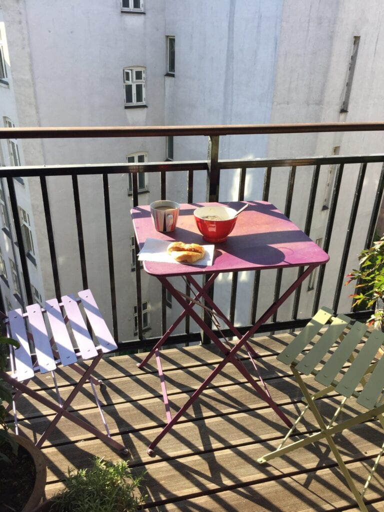 apartment patio