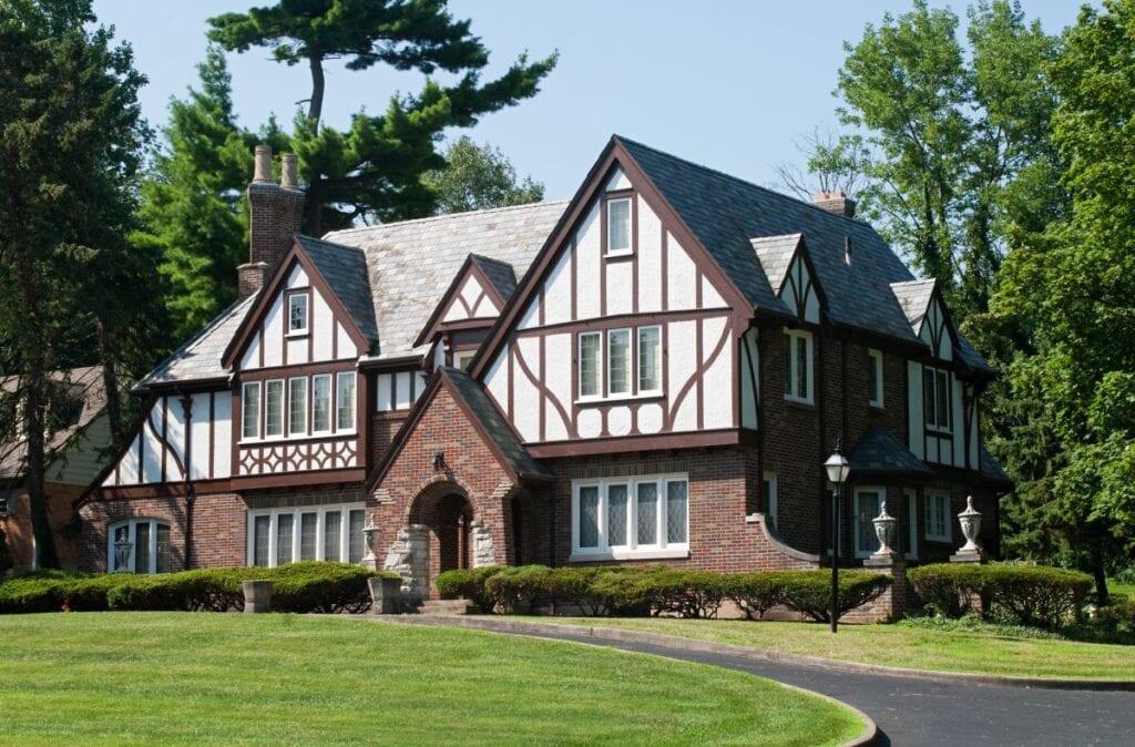 Luxury tudor style house