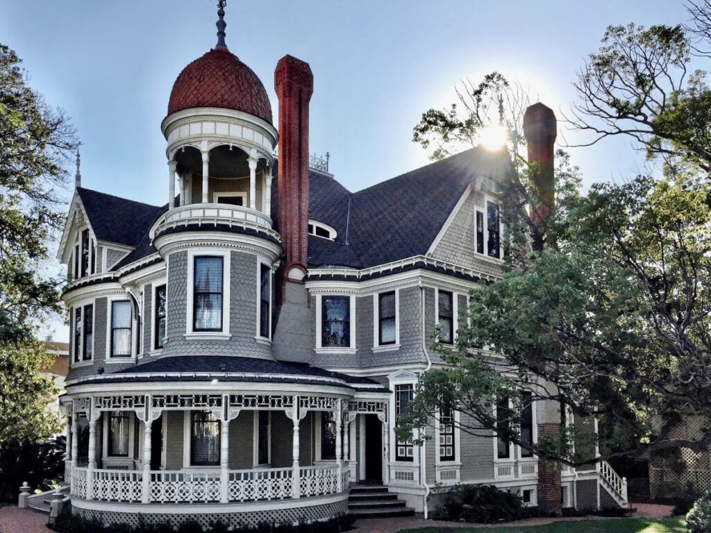 Victorian style mansion in San DIego, California