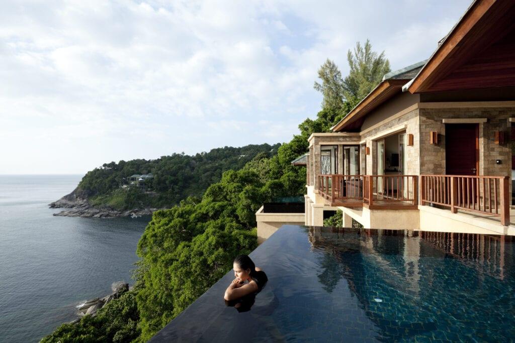 luxury hotel paresa in phuket thailand