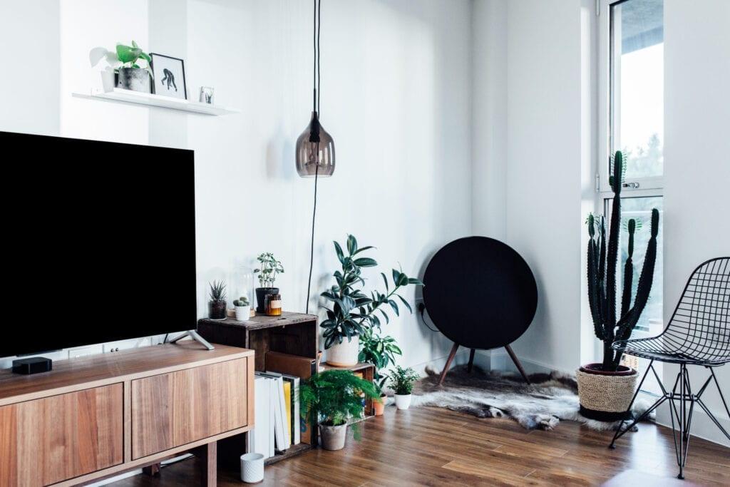 television interior