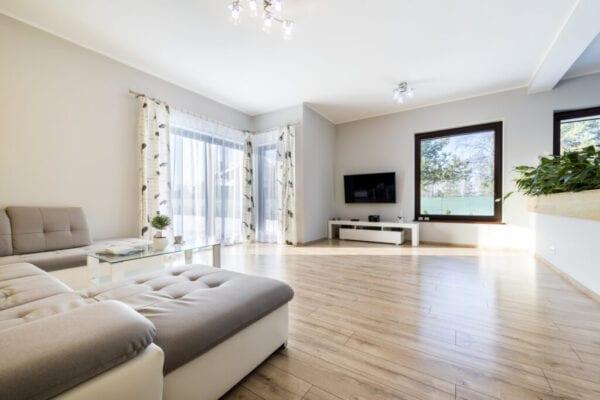 Interior modern living room