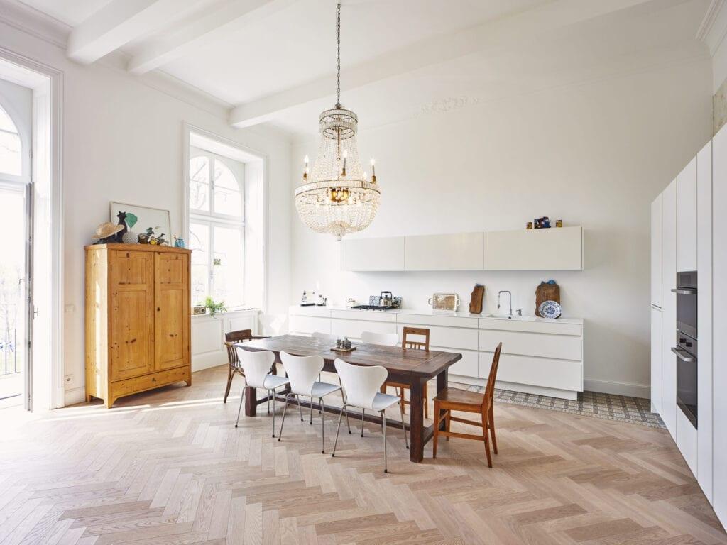 -, Essraum, modernisierter Grunderzeitbau, Osterreich, Wien