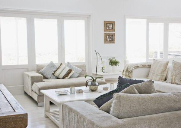 Living room of modern home