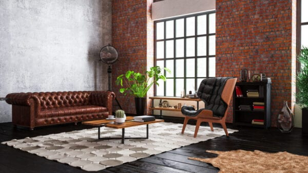 Industrial Style Loft Apartment