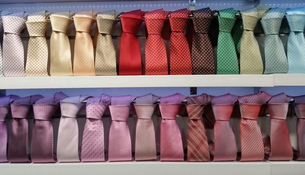 tie closet