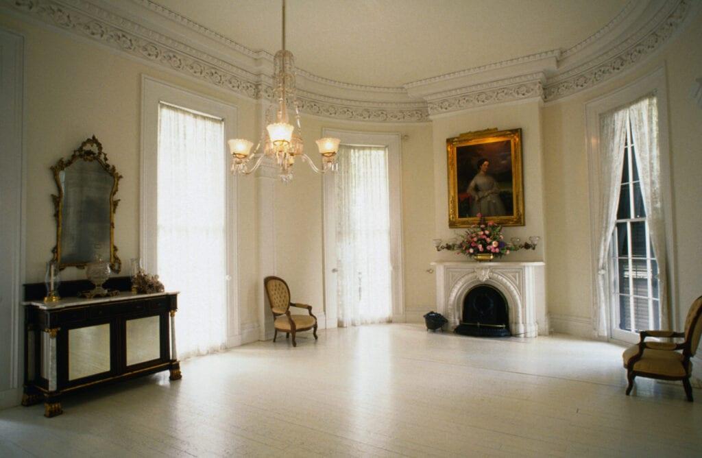 colonial Georgian home