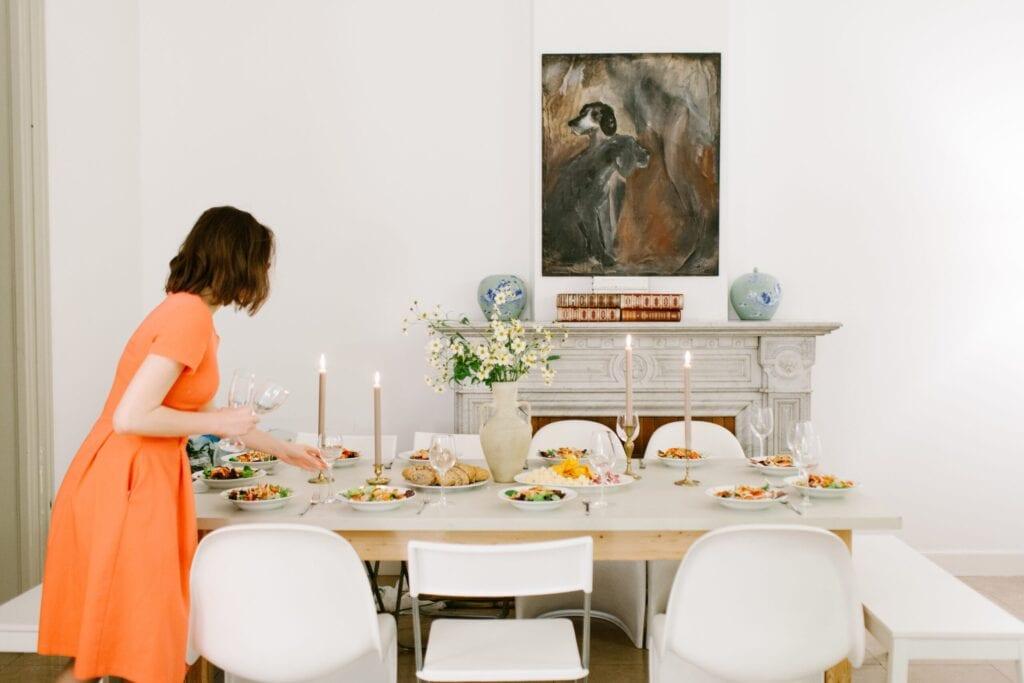 neutral dinning room