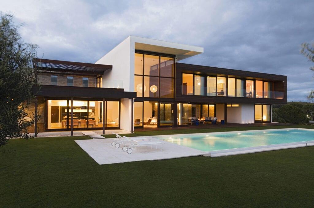 Modernist new build