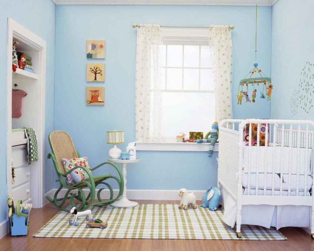 nursery with motion