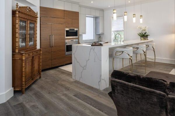 Beautiful remodeled kitchen in a condominium