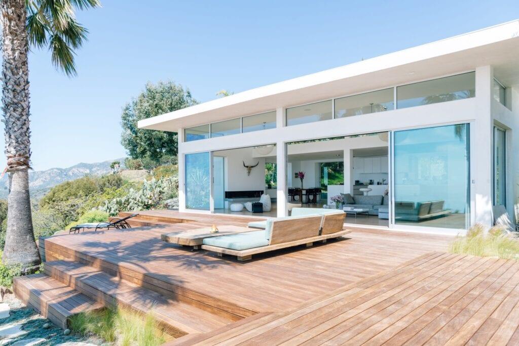 multi-layered deck