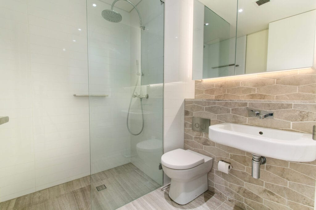 unique contemporary shower