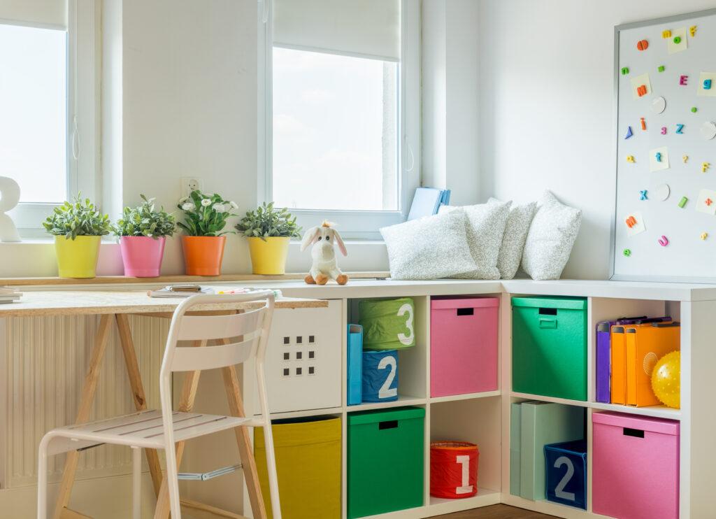 storage kids room