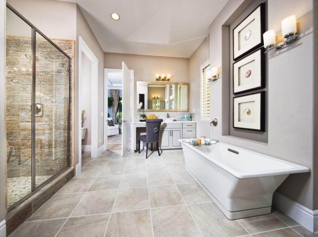 bathroom with decor