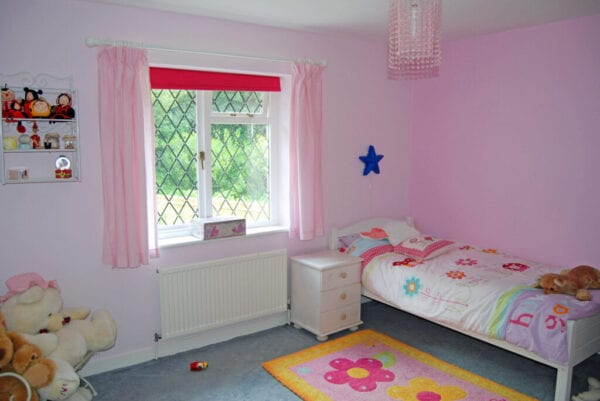 Little girls pastel bedroom