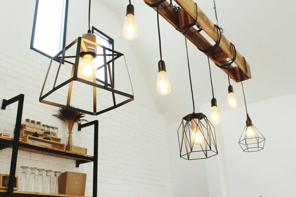 open pendant light