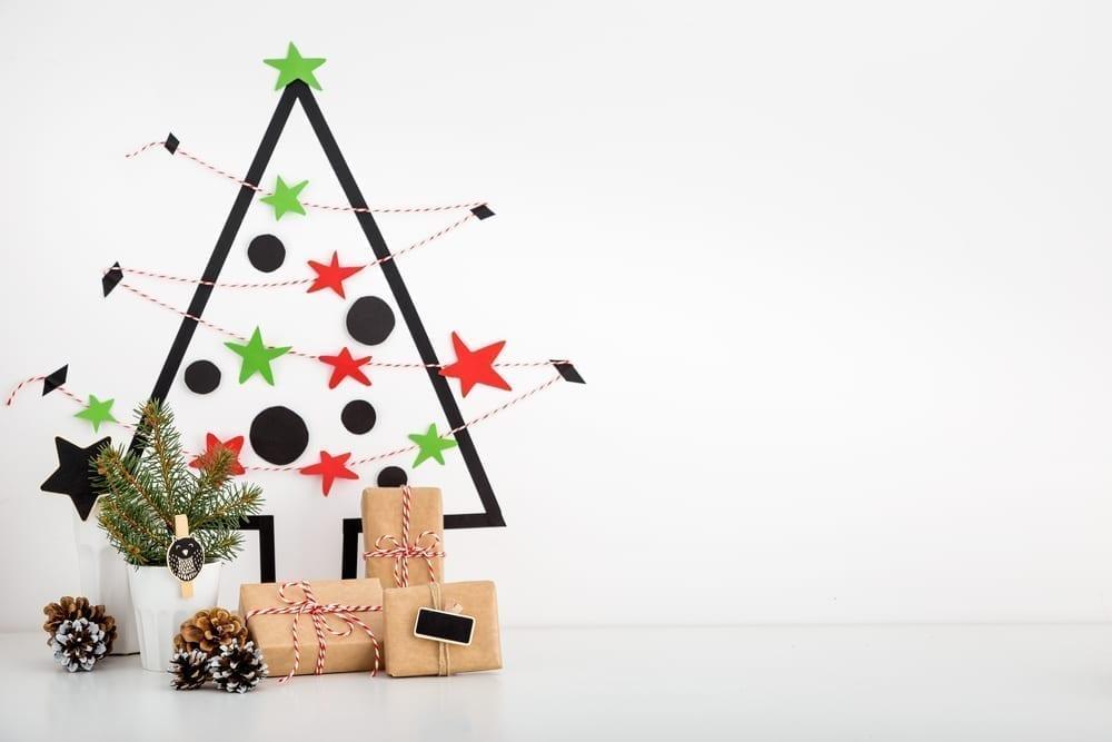 Tape Christmas tree