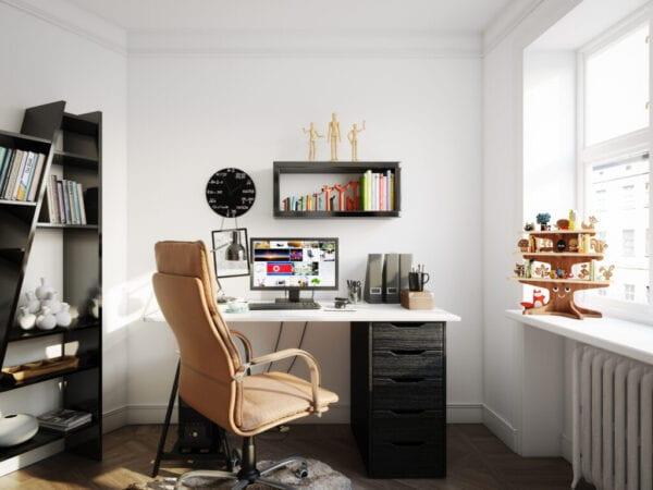 Cozy Scandinavian Style Home Office