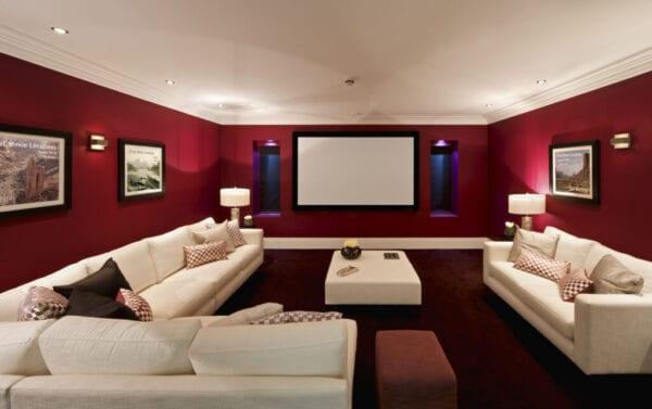 fabulous cinema room