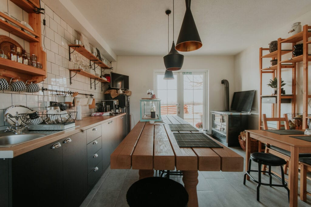kitchen interior design rustic