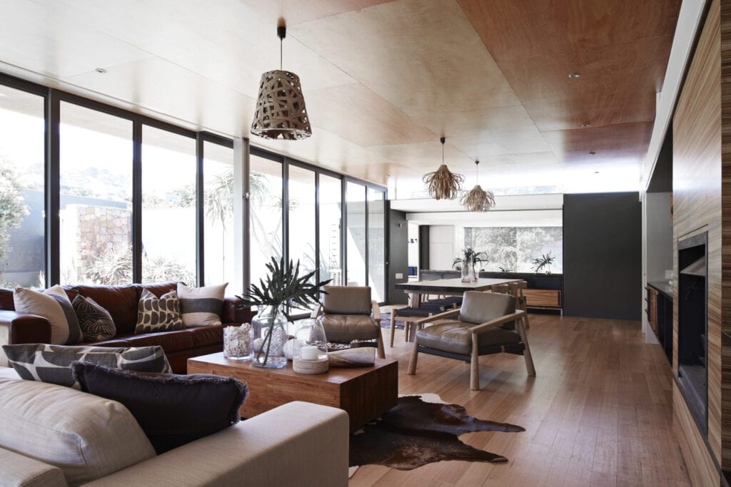 Home interior images of beautiful designed domestic house