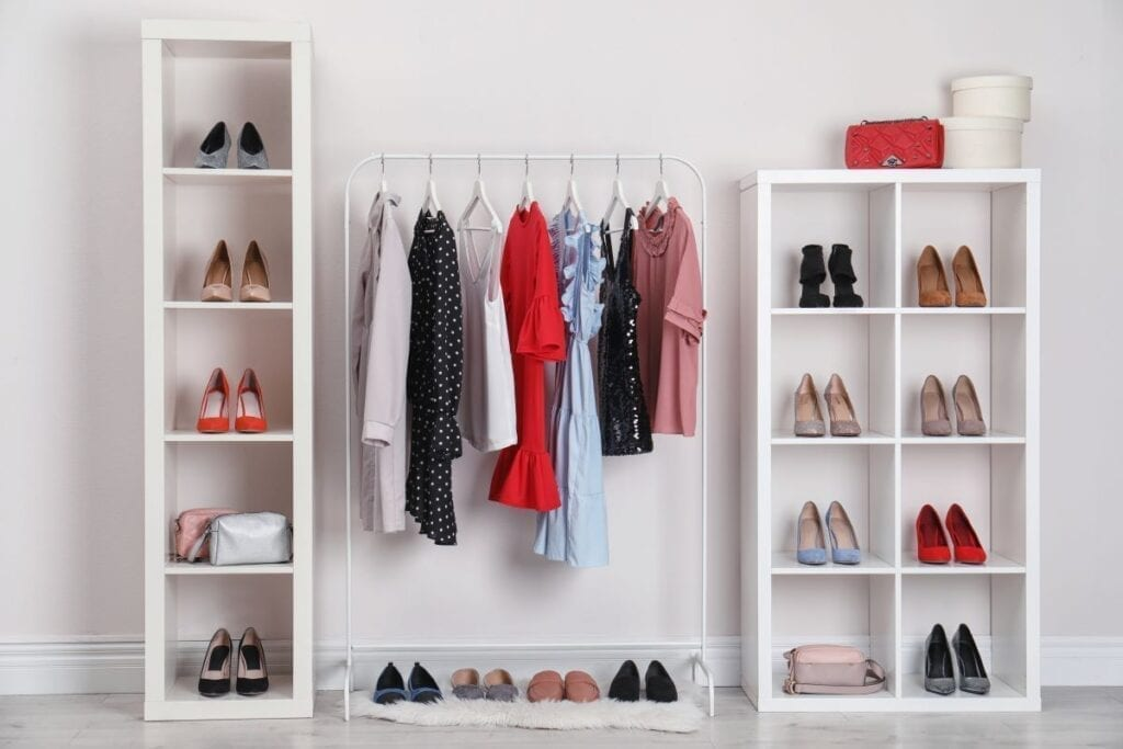 Check Out These No Closet And Tiny Closet Ideas That Work