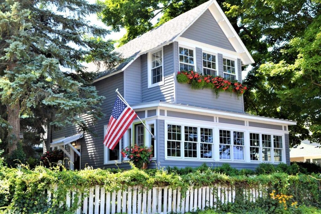 beautiful american home