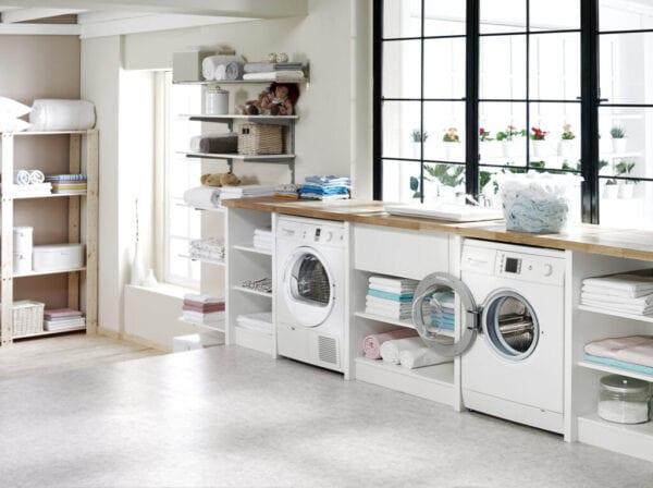 modern laundry room
