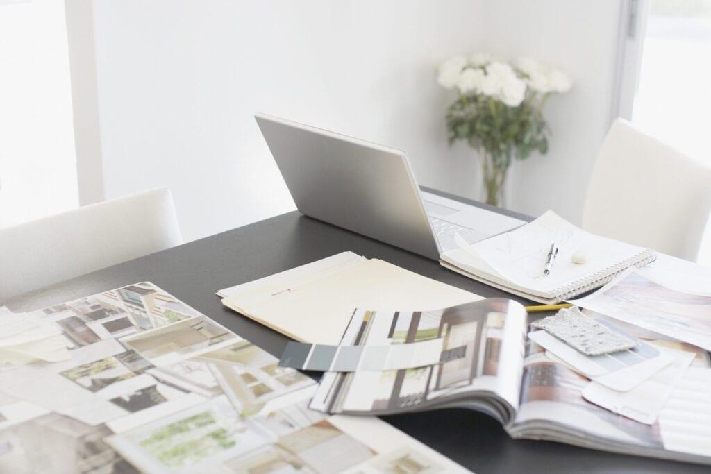 interior design laptop