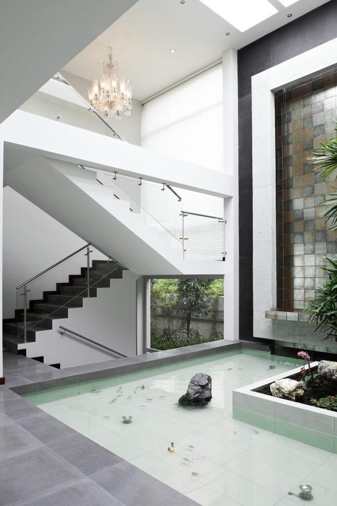 water feature indoor
