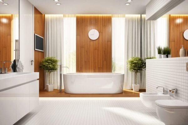 What S Trending In Bathroom Design The National Kitchen Bath Association Reveals All