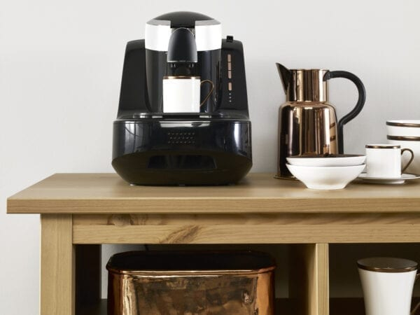 Domestic coffee station detail