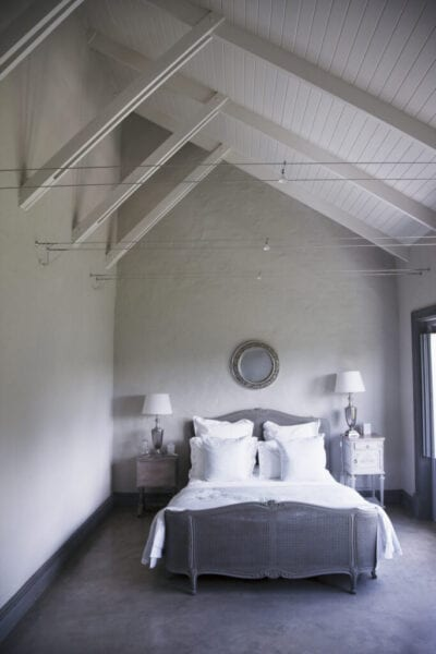 Bedroom beams