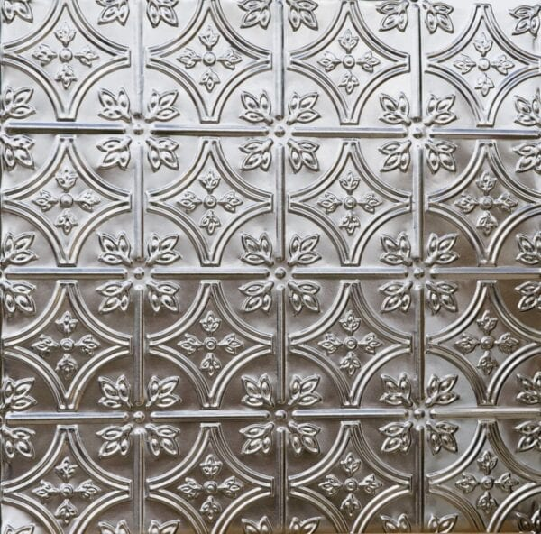Stamped tin ceiling or tile