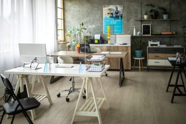 Home office with wifi