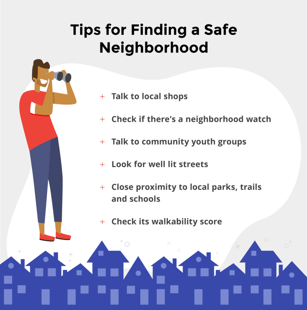 Here are six ways to help research your prospective neighborhood's safety.