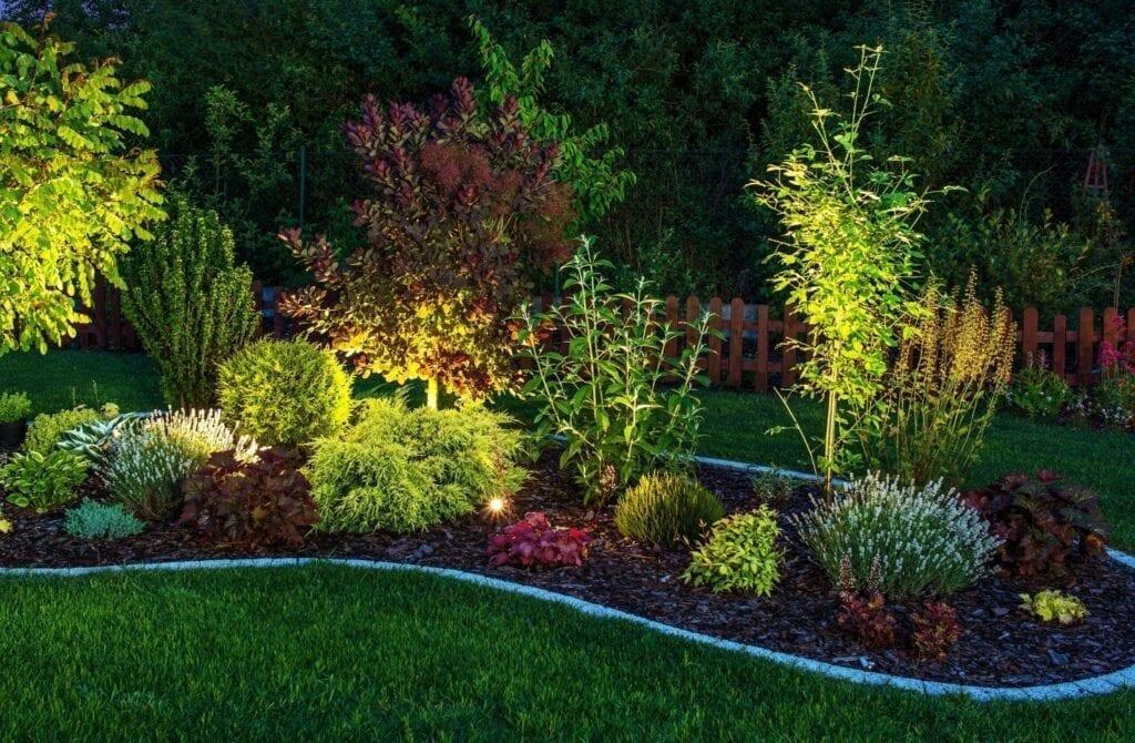 lighting for backyard
