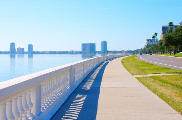 Bayshore blvd in Tampa, FL