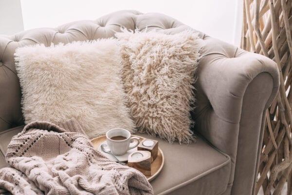 cozy living room 2021 trend