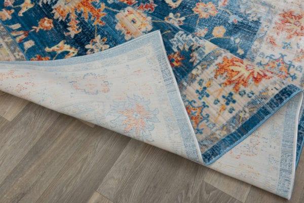Area rug on floor