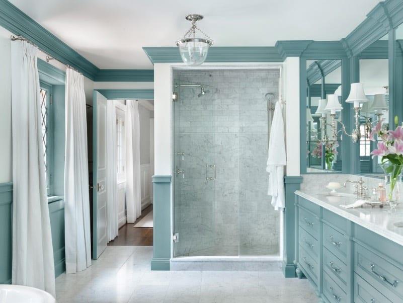 blue bathrooms- freshome.com