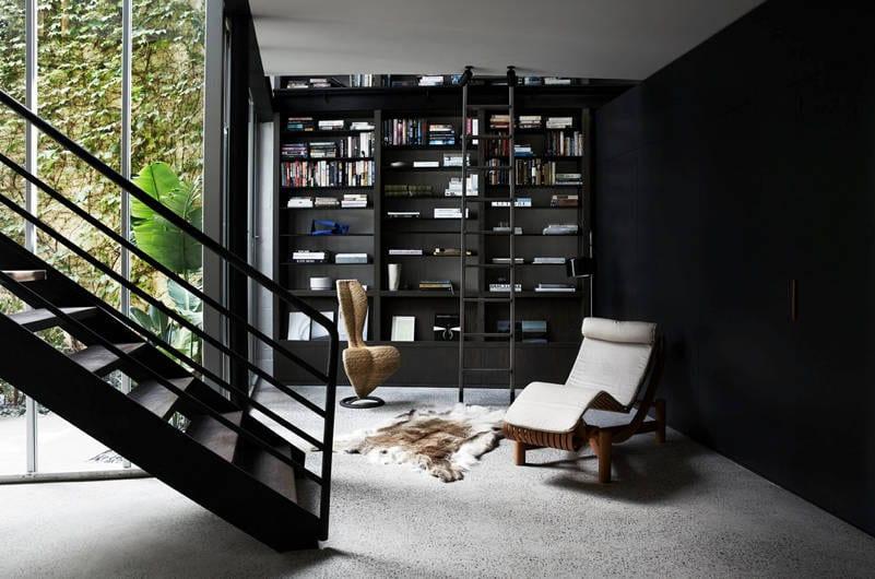 modern home libraries