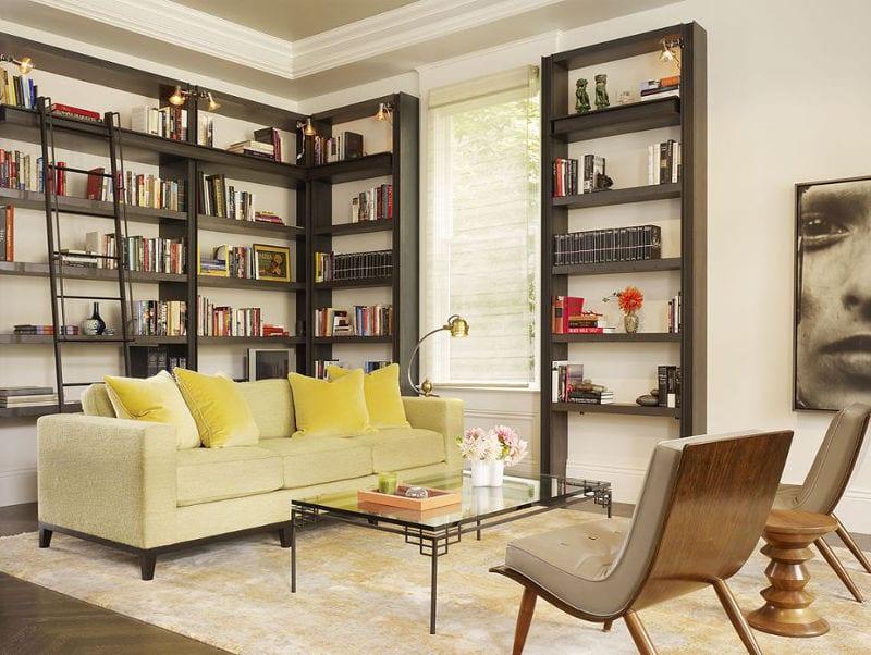 modern home libraries - freshome.com