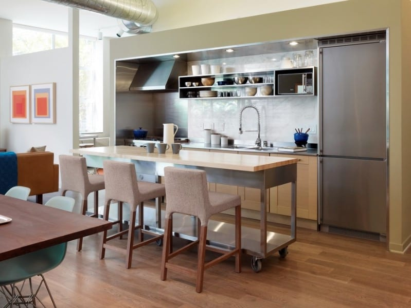 Small Kitchen Island Ideas For Every Space And Budget,Chinoiserie Wallpaper Bedroom